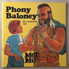 mr t feather earrings phony baloney the counterfeit kid mr t and me series