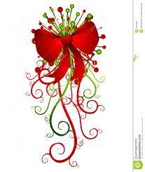 christmas ribbons and bows big christmas bow and ribbons royalty free stock image image
