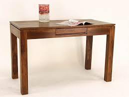 bureau en bois bureau 1 tiroir en bois de palissandre modèle osaka