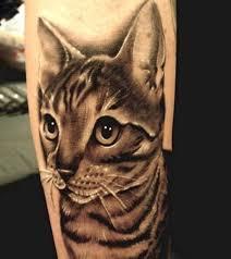 tattoo cat 10 cute cat tattoo designs