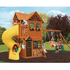 Sams Outdoor Rugs by Cedar Summit Boulder Station Play Set