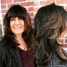haircuts with lots of layers and bangs 50 cute long layered haircuts with bangs 2017