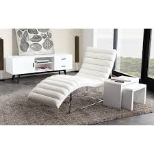indoor chaise lounge chairs enjoy great deals at dcg stores bardot chaise lounge bonded leather white