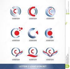 letter c logo icon set stock vector image 59883016