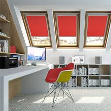 Red Blackout Blind Decorating Red Blinds For Windows Photo Gallery Of Futuristic