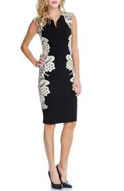 black dress company london dress company bodycon lace dress in black and