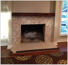 mosaic tile fireplace surround ideas tiles home decorating