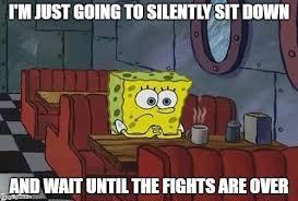 Alone Meme - spongebob sitting alone latest memes imgflip