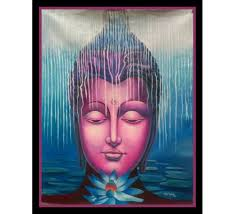 Online Home Decorating Stores Buy Beautiful Buddha Painting From Decorifylife The Leading