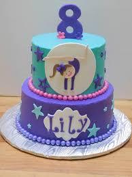 cake girl gymnast birthday cake purple cake girl birthday girly birthday