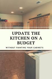 how to wood cabinets how to update wood cabinets no painting