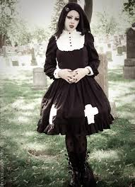 gloomth hymn gothic victorian dress with crosses