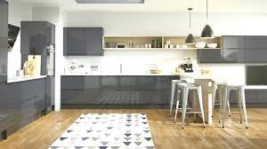 tapis de sol cuisine tapis de sol cuisine moderne cuisine gris anthracite 56 idaces