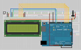 fritzing project u2013 lcd display pcb for arduino mounting arduino