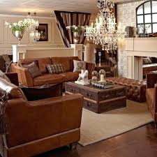 Leather Sofa Recliners For Sale by Leather Sofa Brown Leather Sofa With Orange Pillows Distressed