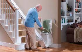 indoor chair stair lift rotating starla stannah stairlifts