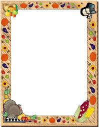 Thanksgiving Borders Clip Printable Thanksgiving Clip Borders Happy Easter
