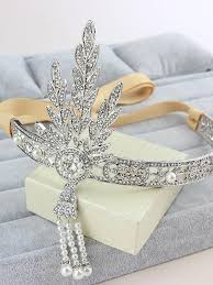 great gatsby hair accessories the great gatsby hair accessories pearl tassels hair