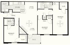 apartment pretty 3 bedroom apartment floor plans free house 3