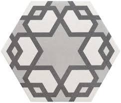 myth decor hexagon tiles allegory hexagon tiles 200x175x8mm tiles