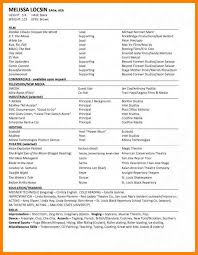 amazing special skills for dance resume contemporary simple