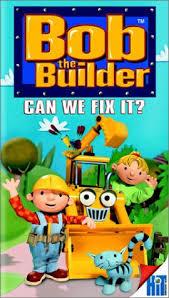 amazon bob builder fix vhs rob rackstraw