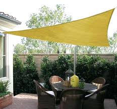 shade ideas best triangle sun shade ideas on awnings and shade