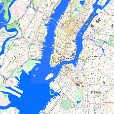 Nyc City Map City Maps New York Simple Map Of Nyc And Surrounding Areas On