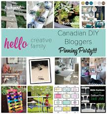 Home Decor Bloggers by Pinterest Party My Favorite Pins From Canada U0027s Top Diy Craft