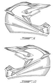 dirtbike coloring pages drawn helmet motocross pencil and in color drawn helmet motocross