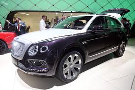bentley suv inside bentley bentayga mulliner is a warning shot to the rolls royce suv