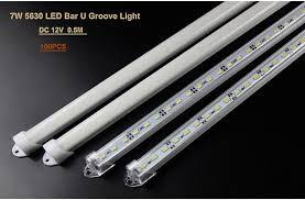epistar 12v led light bar 5630 led rigid bar white warm