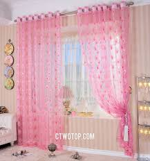 pink peacock cute discount overstock best curtains online