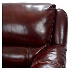 Maroon Leather Sofa Theodore Burgundy Power Motion Leather Sofa W Right Left