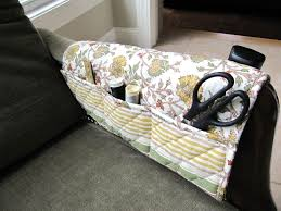 Armchair Caddies Sew Many Ways Thrifty Thursday Placemat Sewing Caddy
