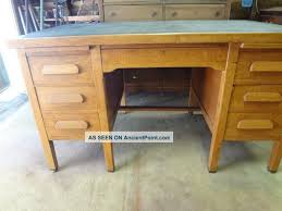 Office Desks Oak Unique Vintage Office Desk With Vintage S Solid Oak Executive