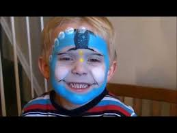 face paint thomas tank engine face painting tutorial