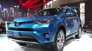 toyota line of cars 2016 toyota rav4 hybrid joins refreshed lineup kelley blue book