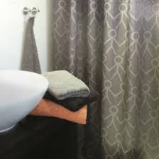 Charcoal Shower Curtain Xl Charcoal Grey Shower Curtain Lead Weighted Quickfit Blinds