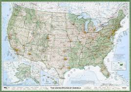 map us the best american wall map david imus the essential geography