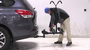 nissan pathfinder reviews 2014 review of the thule doubletrack hitch bike rack on a 2014 nissan