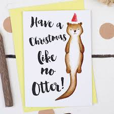 a like no otter card by alexia