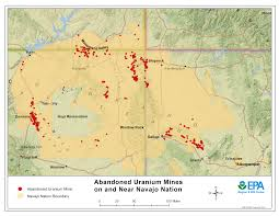 Map Of Arizona And New Mexico by Cleaning Up Abandoned Uranium Mines Navajo Nation Cleaning Up