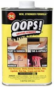 How To Remove Paint From Kitchen Cabinets This Product Called U201cgoof Off U201d Is Perfect For Removing Dry Paint