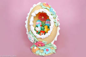 try this elaborate sugar easter egg recipe