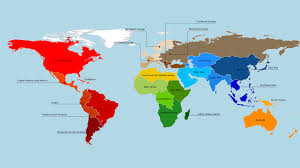 The Americas Map by How Many Countries Are There In The Americas U2013 Go Camaro