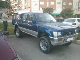 volkswagen pickup diesel 1990 toyota hilux vw taro doka double cab turbo diesel 4 4 truck