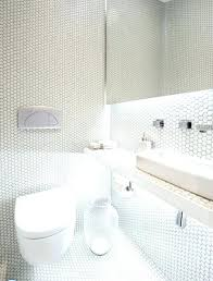 mosaic bathroom tile ideas best 25 white mosaic bathroom ideas on white tiles white