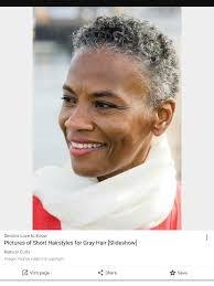 how to wear short natural gray hair for black women pin by barbara wasgington on short stylist grey hair cuts