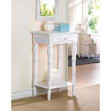 Distressed White Table Distressed White Wood Accent Table Wholesale At Koehler Home Decor